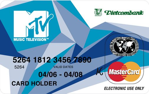 Thẻ Vietcombank MTV Master