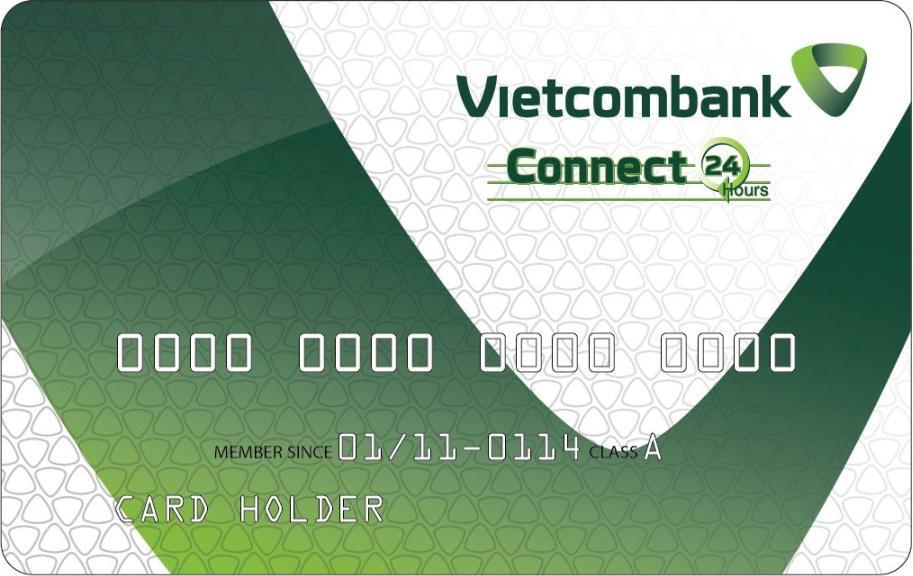 Kết quả hình ảnh cho thẻ ngân hàng vietcombank