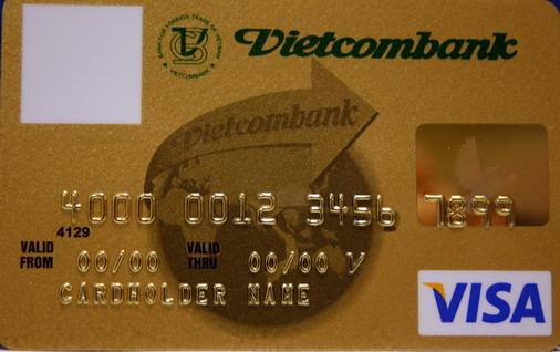 Thẻ tín dụng Vietcombank Visa